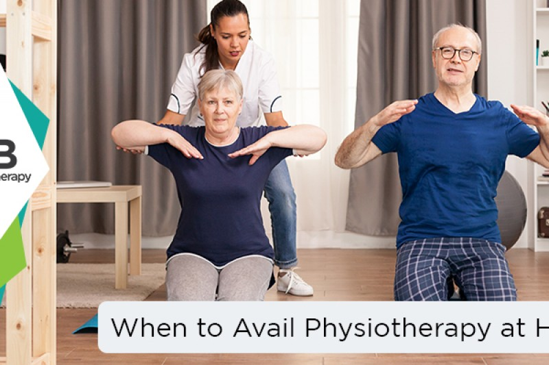 When to Avail Physiotherapy at Home?